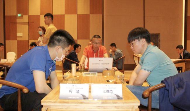 围甲第九轮赛果:江维杰胜柯洁 童梦成胜朴廷桓