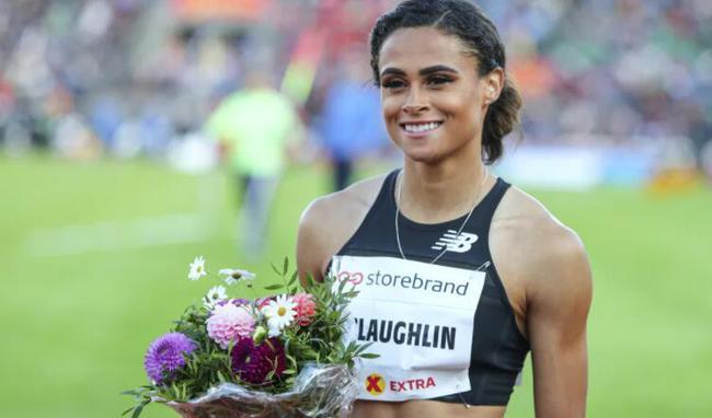 跨栏女将创另类世界第一 她离世界纪录还差0.07秒