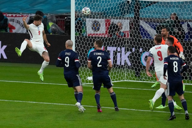 欧洲杯-斯通斯憾中立柱 凯恩哑火 英格兰平苏格兰