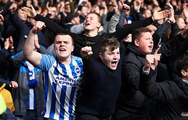 布莱顿也许将变成英超联赛第一支容许球迷进场看比赛的俱乐部队