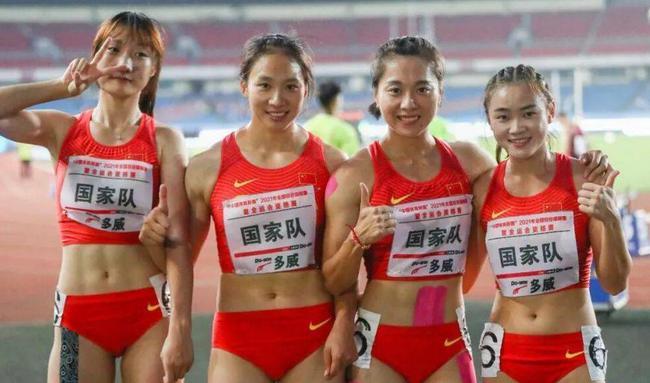 中国女子4乘100接力前三棒或已敲定 冲刺棒三选一