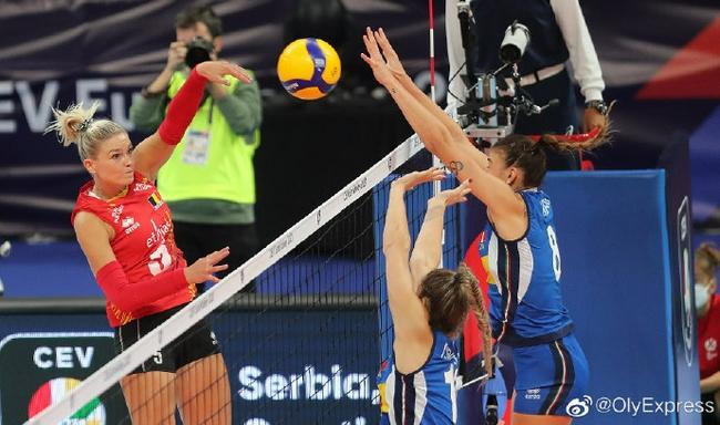 欧锦赛意大利3-1比利时晋级8强 埃格努独揽27分