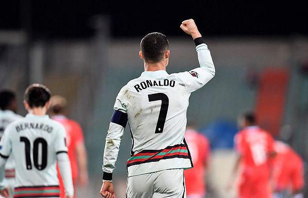 C罗破9年来最长国家队球荒 逼近伊朗国脚进球纪录