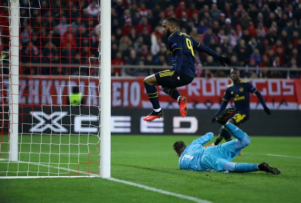 欧联杯-拉卡泽特绝杀 18岁妖翼助攻 阿森纳客胜