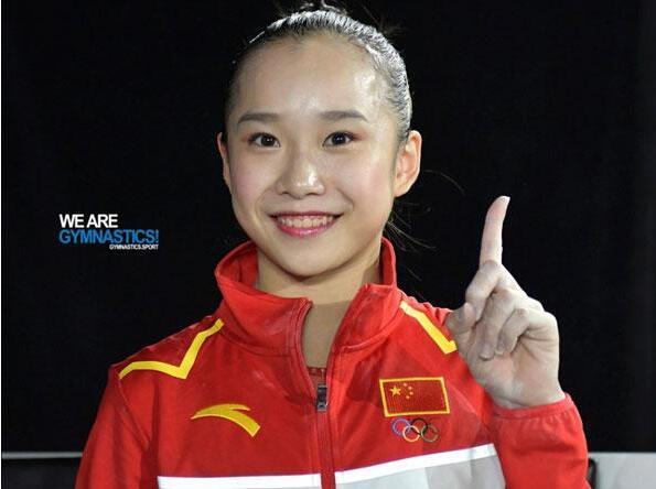 体操全锦赛范忆琳高低杠第四冠 新星自由体操封王