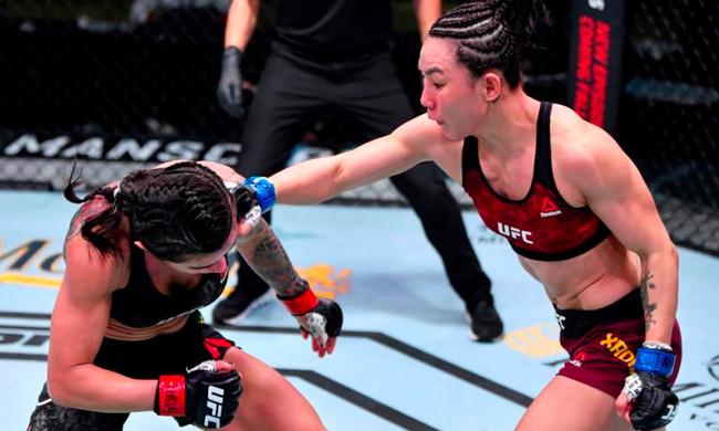 闫晓楠击败盖德哈后已经在UFC打出了6连胜
