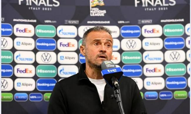 恩里克:西班牙赢在一锤定音   一直按我的想法踢球