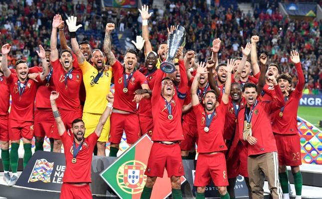 C罗葡萄牙夺冠没含金量?不 这是欧足联天才发明