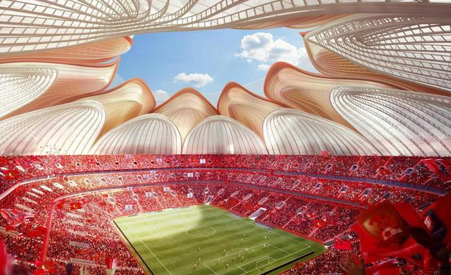 中建四局:广州恒大足球场项目中标额约43亿