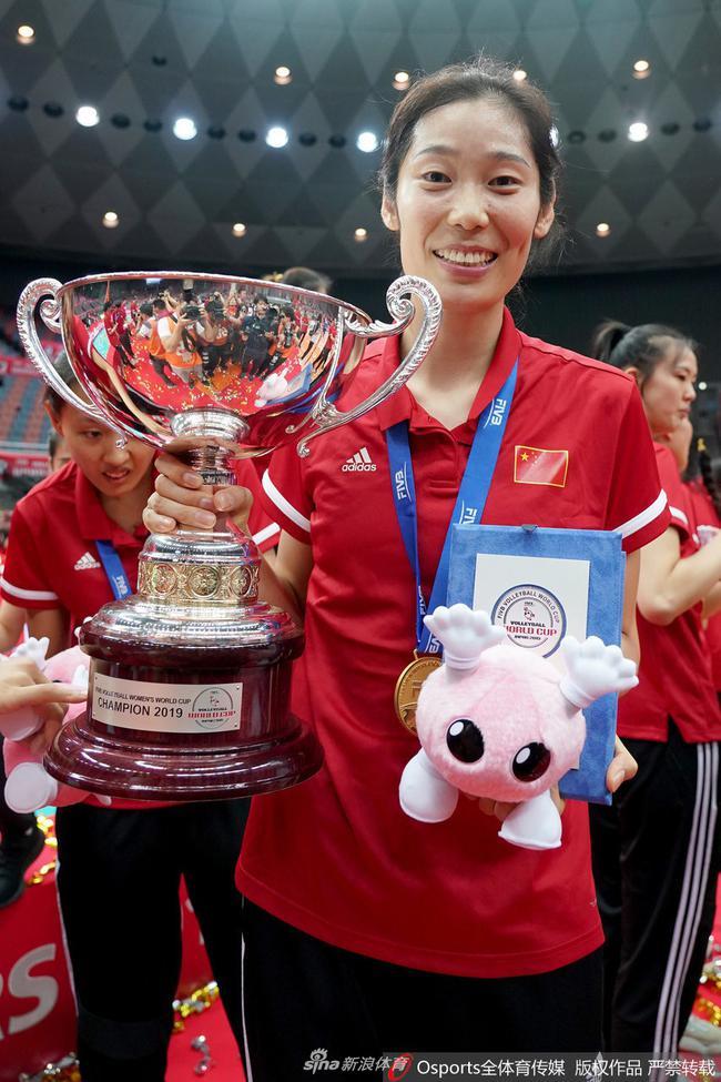 20年欧冠联赛最佳非欧洲女排队员朱婷荣膺该殊荣