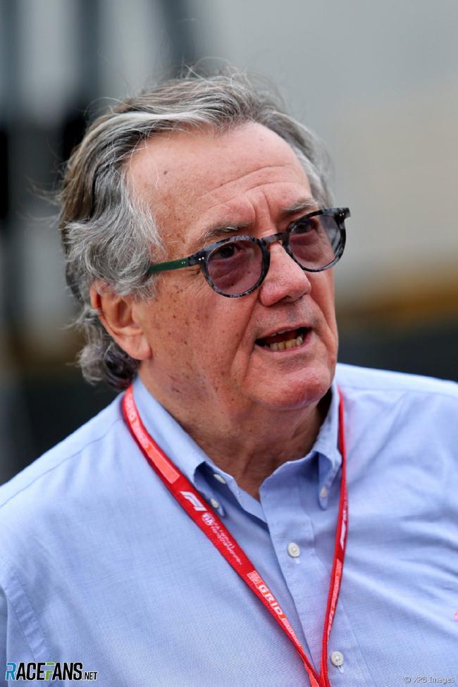 前F1车队的老板、意大利人吉安卡罗-米纳尔迪