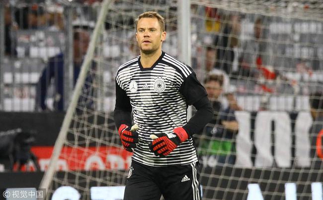 名将:诺伊尔依然是最佳门将 德国拜仁输球不怪他