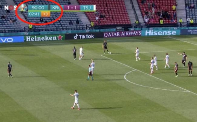 争议!欧洲杯主裁提前20秒结束比赛 莫德里奇大怒
