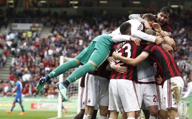 意甲-恰10造5球库特罗内2球 AC米兰5-1进欧联正赛