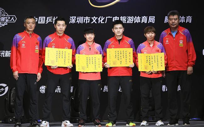 今年1月初,地表最强12人赛暨国乒内部直通赛在深圳举行。