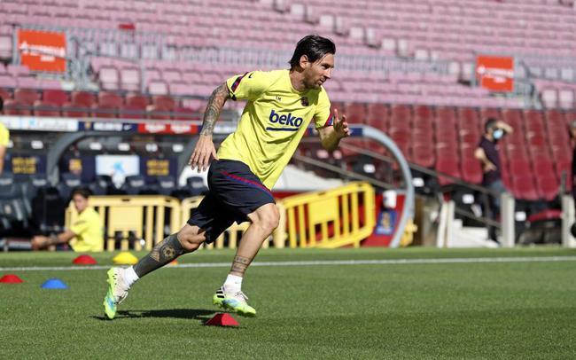 梅西仍会参加巴萨的训练