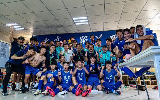 北京U20男足12年后进全运会正赛 国安预备队班底