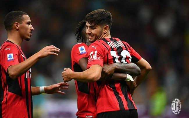 意甲-迪亚斯进球 特奥传射 AC米兰2-0夺主场3连胜