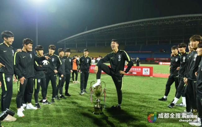 韩国国青熊猫杯变乱