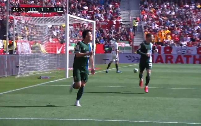 武磊首发登场破门再创历史 征战西甲客场首个进球