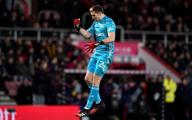 足总杯-18岁飞翼传射 恩凯蒂亚进球 阿森纳2-1胜
