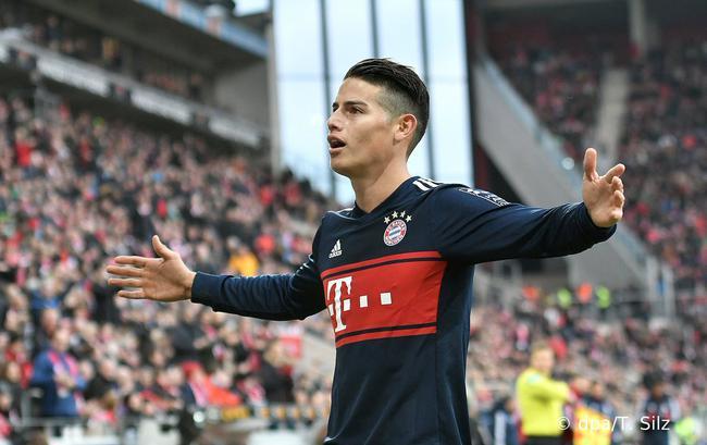 德甲-J罗传射穆勒2助 莱万破门 拜仁客场3-1逆转