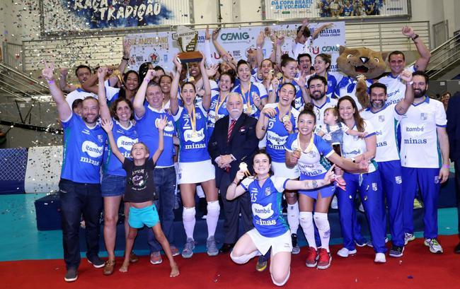 南美女排俱乐部锦标赛米纳斯卫冕