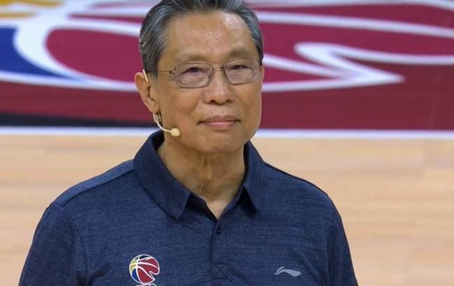 钟南山:CBA带了个好头 希望决赛现场能有球迷