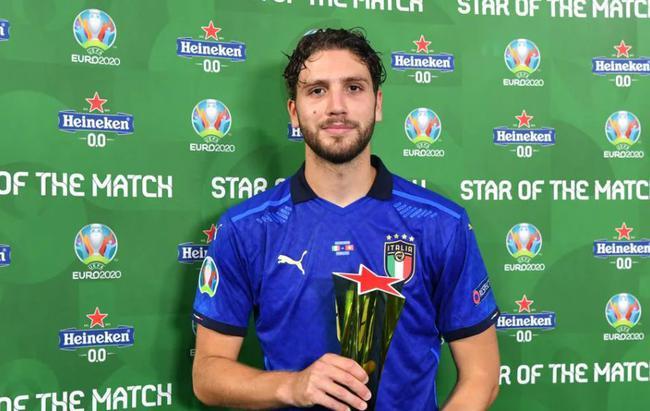 本届欧洲杯最大奇兵!平民意大利最平民球员当选MVP