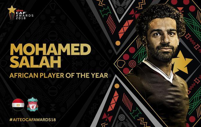 非洲足球先生大奖出炉 利物浦天王连续第二年当选