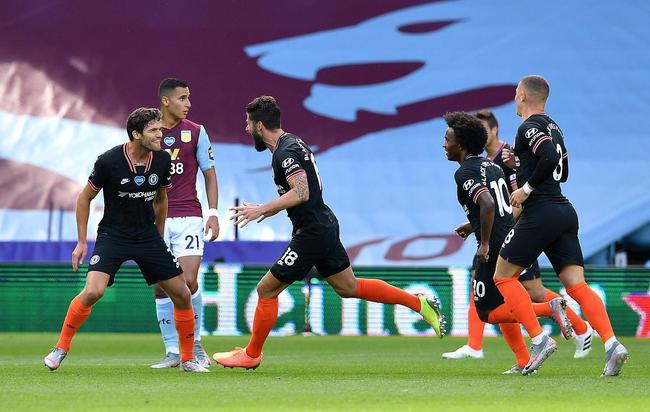 切尔西2-1反转客胜