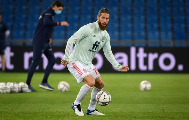 拉莫斯第177次进场成为代表国家队进场次数最多的欧洲球员