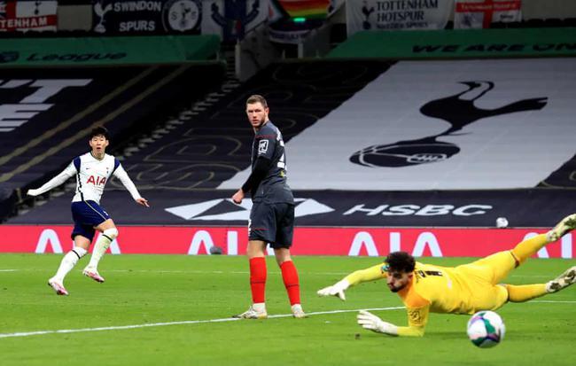 英联杯 热刺2-0,擒黑马进决赛