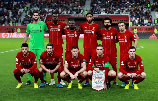 利物浦始发11人