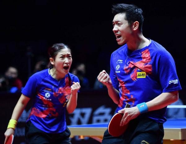刘诗雯/许昕成为国乒东京奥运会阵容中最先确定的人选。