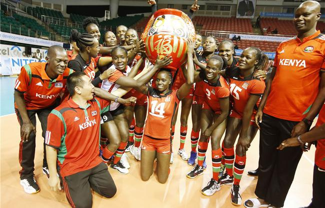 肯尼亚全胜进军奥运会