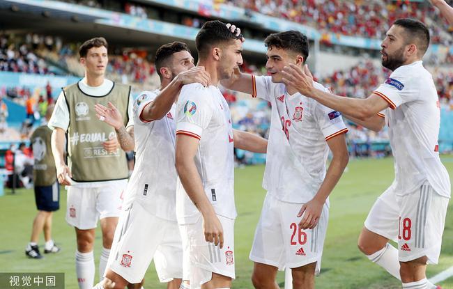 西班牙5球大胜逆袭出线!1/8决赛将战克罗地亚