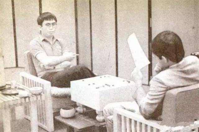 1985年首届中日围棋擂台赛第13局 聂卫平对阵幼林光一