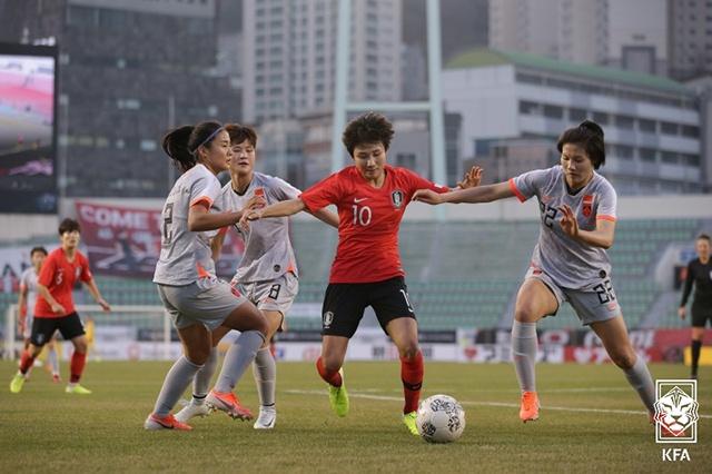 韩国足协否认对中国女足用盘外招 已经提供了方便