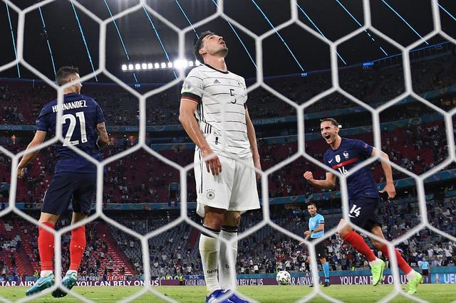 欧洲杯强队盘路统计:德国0-1法国打出下盘