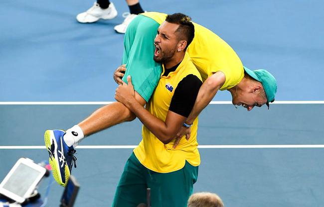 ATP杯澳大利亚携俄罗斯进4强 克耶高斯单双均建功