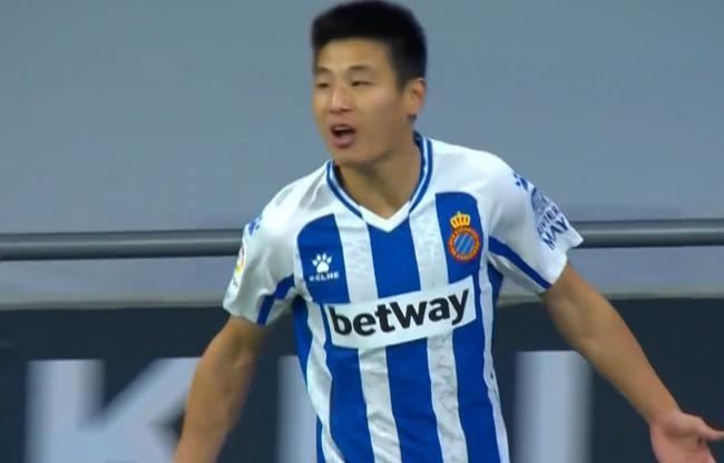 西乙-武磊替补破进球荒+助攻!西班牙人2-0回榜首