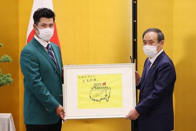 松山英树获日本总理大臣表彰 誓言赢得奥运会金牌