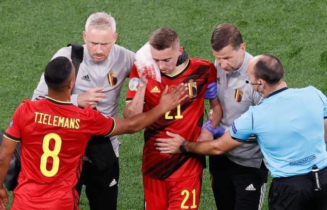 头部被撞两处骨折!比利时大将提前告别欧洲杯