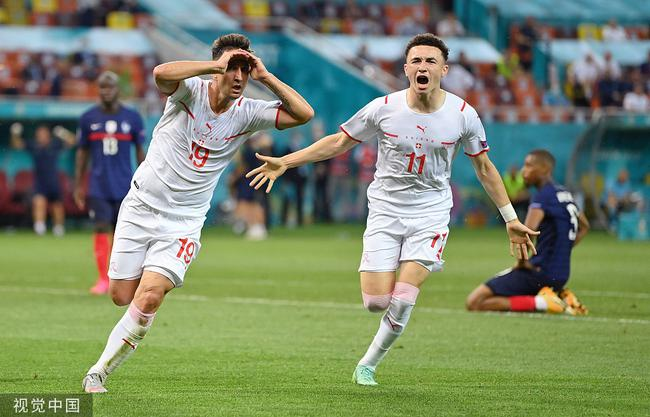 【博狗体育】太刺激了吧!瑞士9分钟2球绝平法国 横梁拒绝读秒绝杀