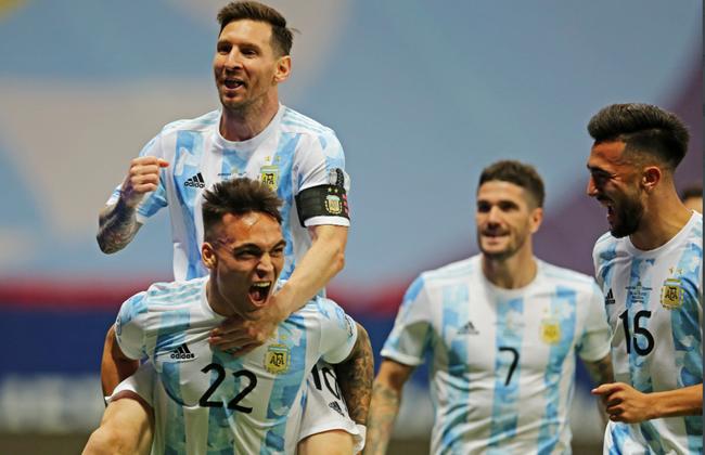 【博狗体育】美洲杯-梅西助攻门神连扑3点 阿根廷4-3会师巴西