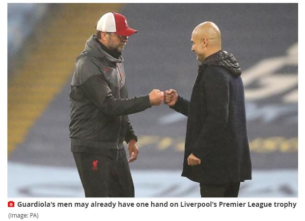 红军名宿:冠军已远离利物浦 赢了曼城也没戏
