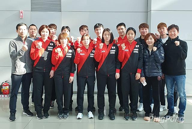 韩国队出征奥运资格赛