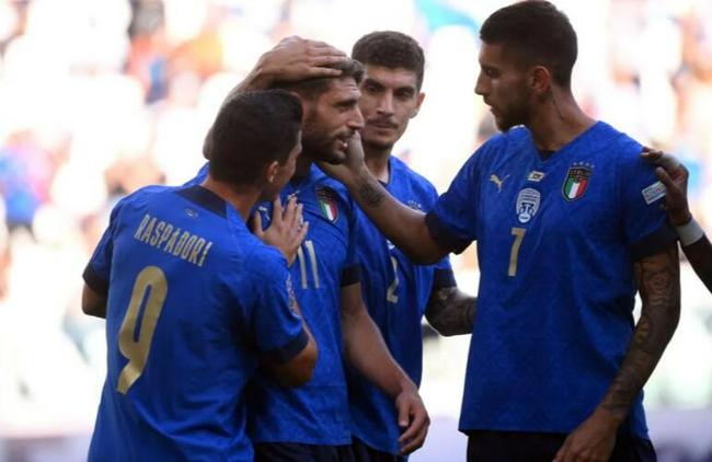 欧国联-国米中场进球 意大利2-1比利时力夺季军