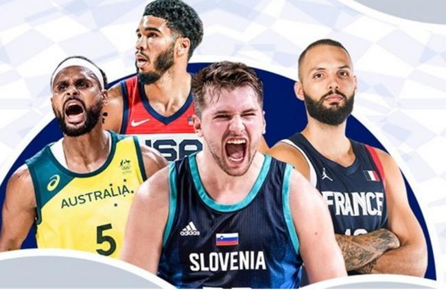 奥运男篮8强实力榜!斯洛文尼亚第1 美国仅第4